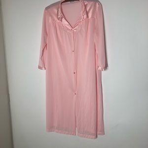 Vanity Fair Pink Gown Large